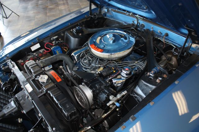 1969 Ford Mustang blue_1