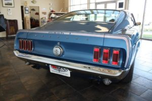 1969 Ford Mustang blue_14