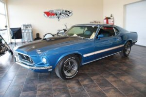 1969 Ford Mustang blue_19
