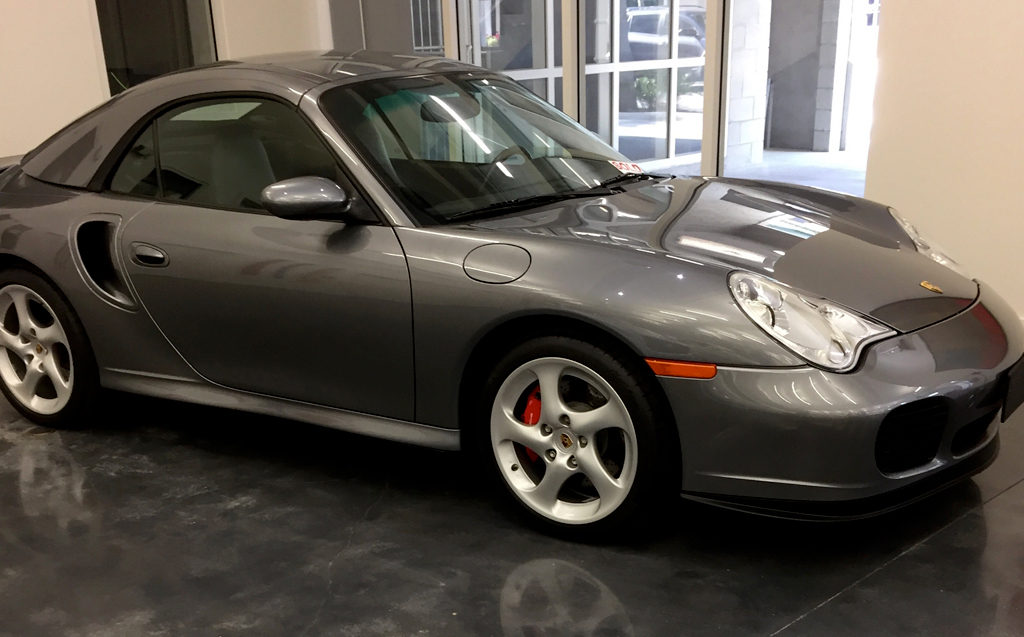 2004 Porsche 911 Turbo 2-Door Convertible