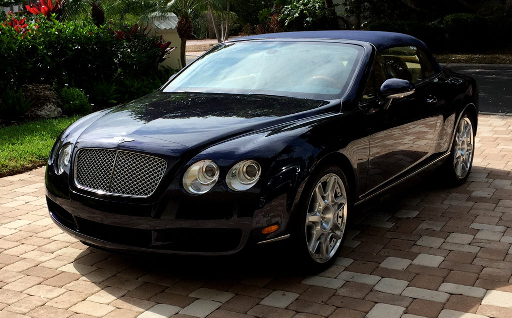 2009 Bentley Continenta 2-Door Convertible