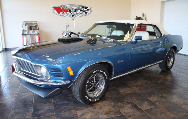 1970 Ford Mustang Convertible Exterior