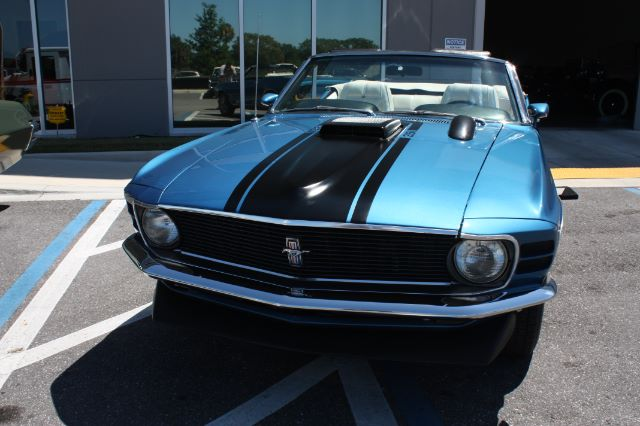 1970 Ford Mustang Convertible blue vintage-22